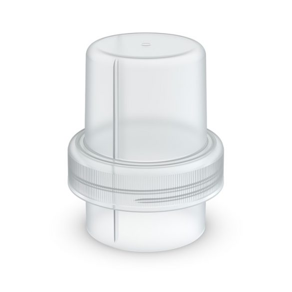 Dosing cap for softener/washing gel